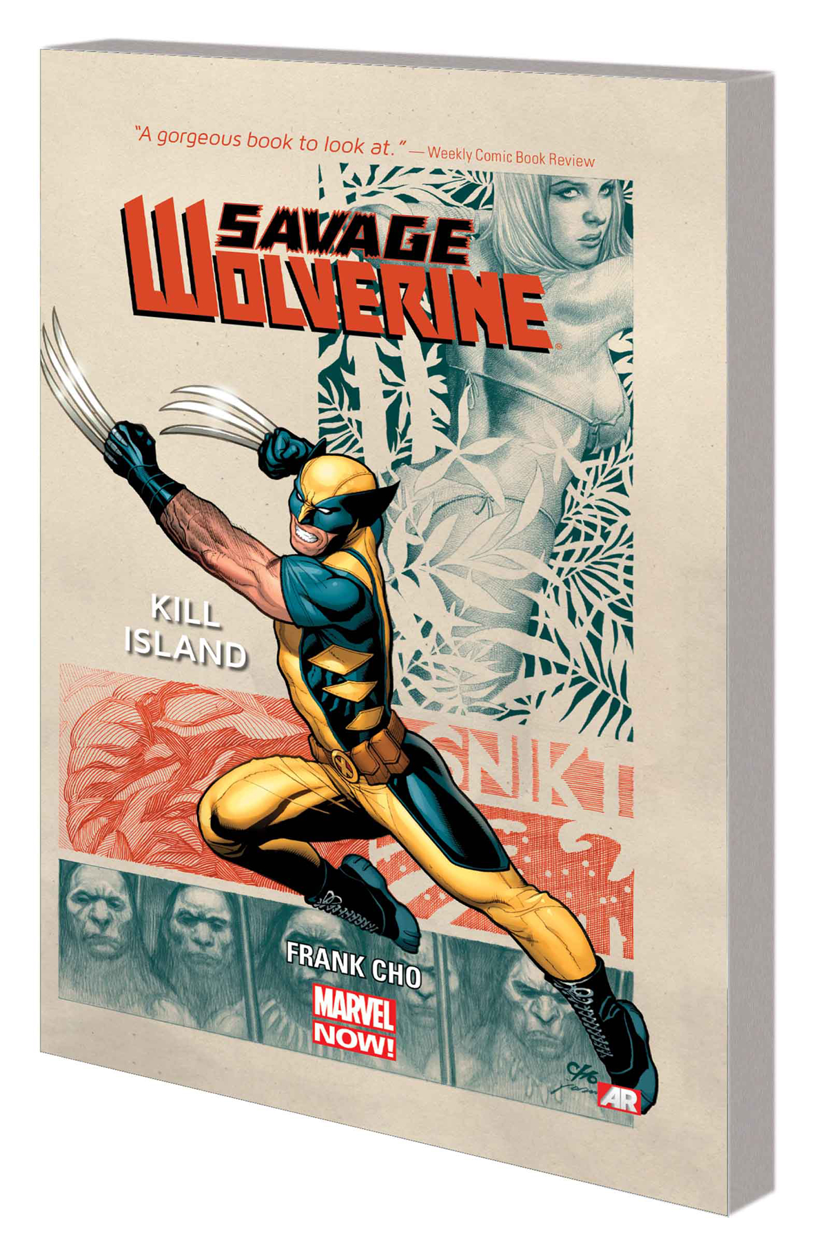SAVAGE WOLVERINE TP VOL 01 KILL ISLAND