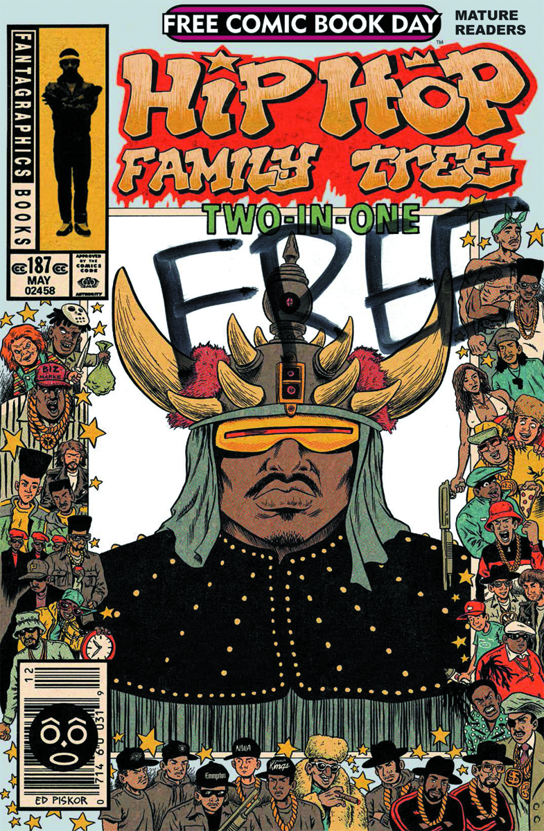FCBD 2014 HIP HOP FAMILY TREE TWO-IN-ONE