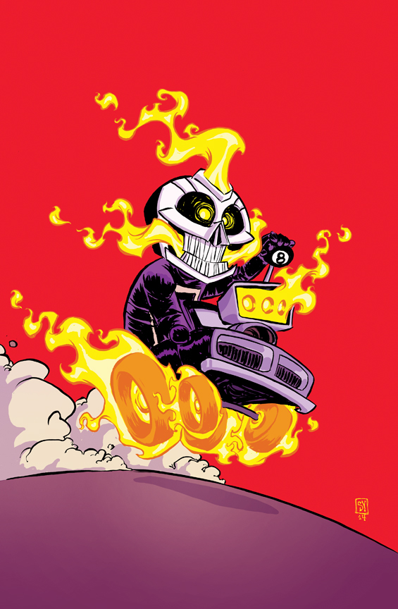 ALL NEW GHOST RIDER #1 YOUNG VAR ANMN