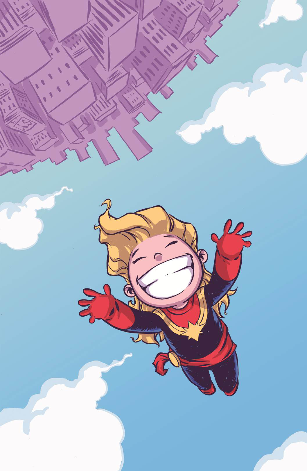 CAPTAIN MARVEL #1 YOUNG VAR ANMN