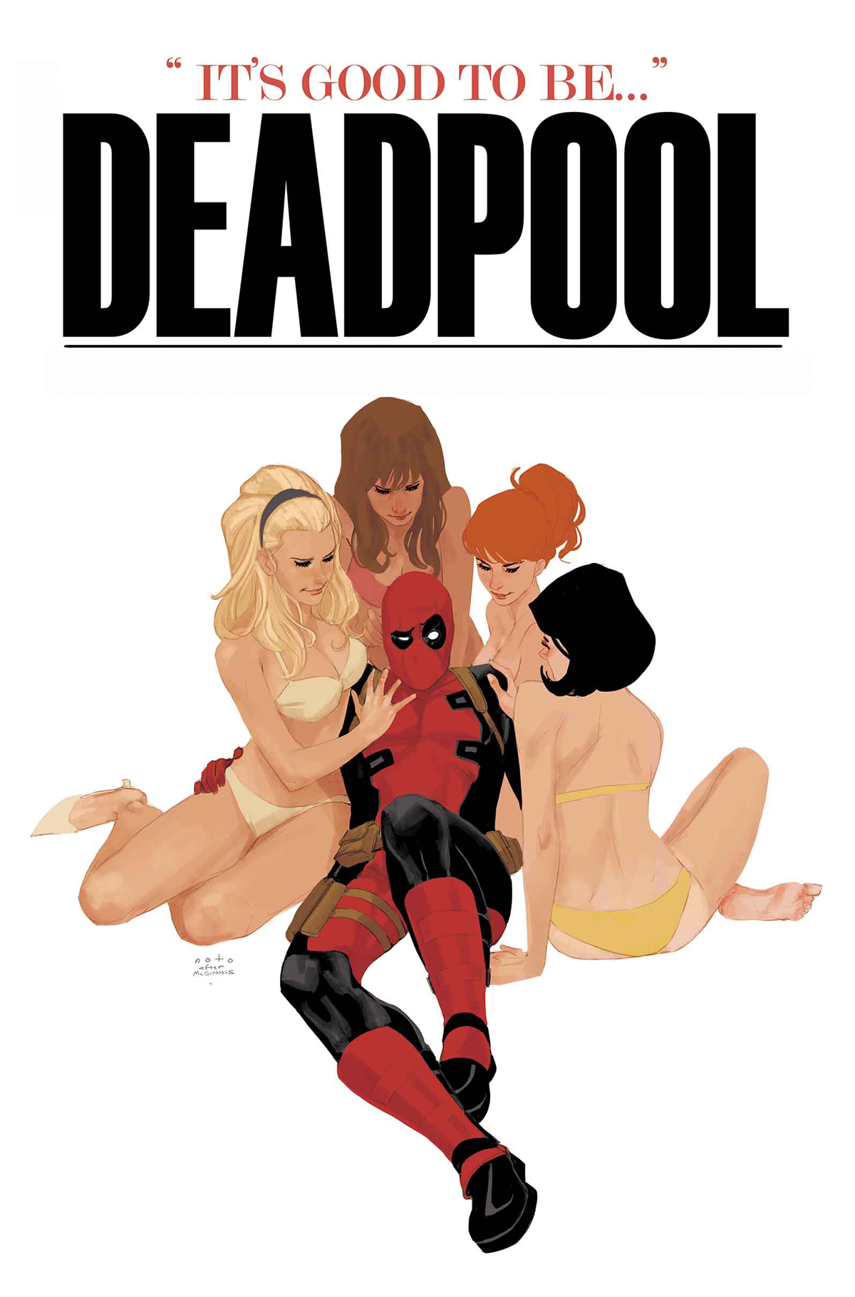 DEADPOOL #25.NOW NOTO VAR ANMN