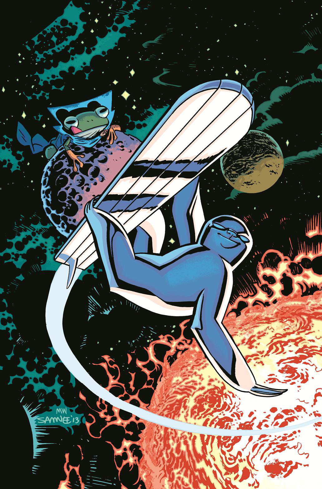 SILVER SURFER #1 SAMNEE ANIMAL VAR ANMN