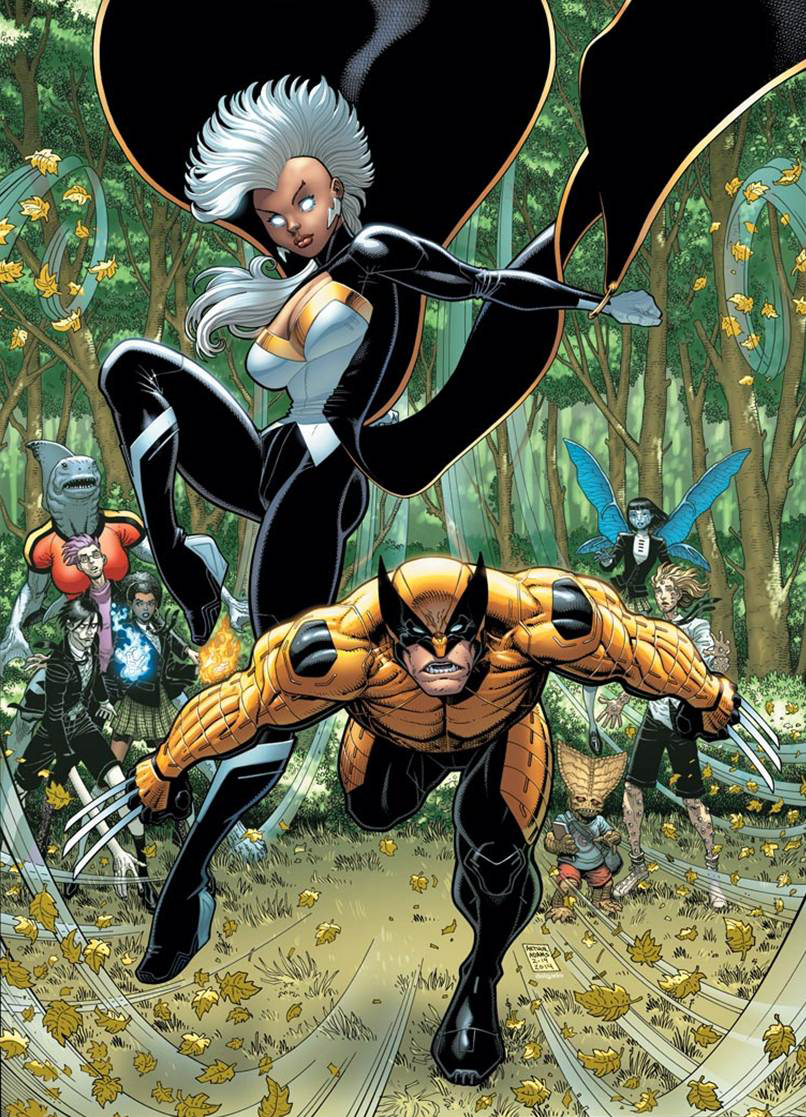 WOLVERINE AND X-MEN #2 VAR ANMN