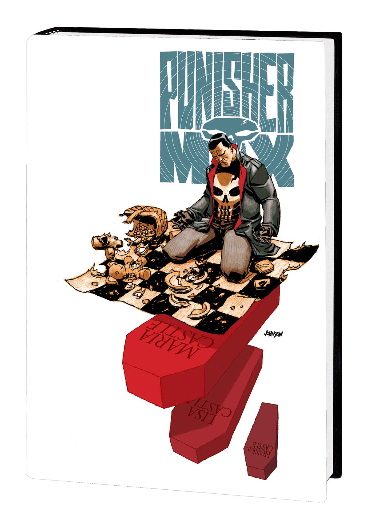 PUNISHER MAX BY AARON OMNIBUS HC