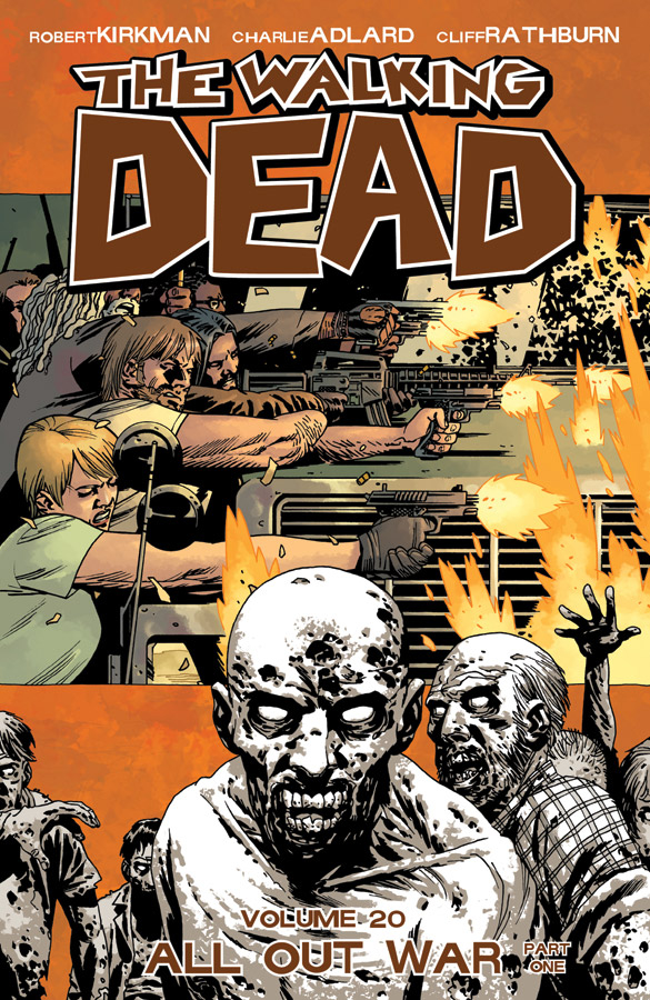 WALKING DEAD TP VOL 20 ALL OUT WAR PT 01