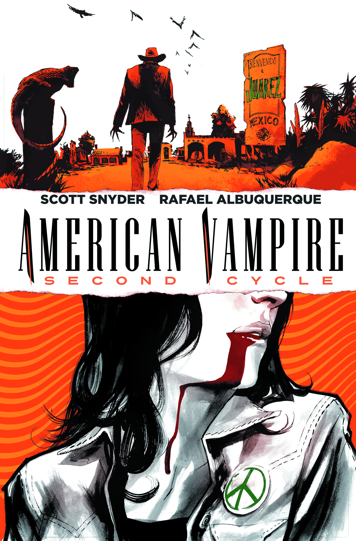 AMERICAN VAMPIRE SECOND CYCLE #1 VAR ED