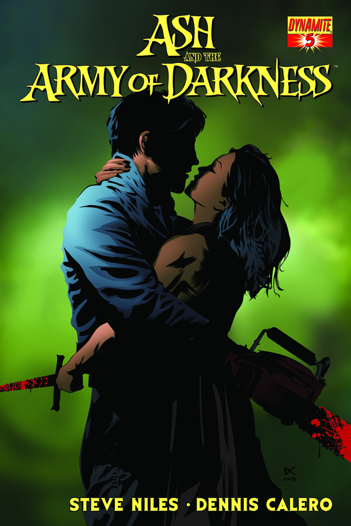 ASH & THE ARMY OF DARKNESS #5 CALERO SUBSCRIPTION VAR