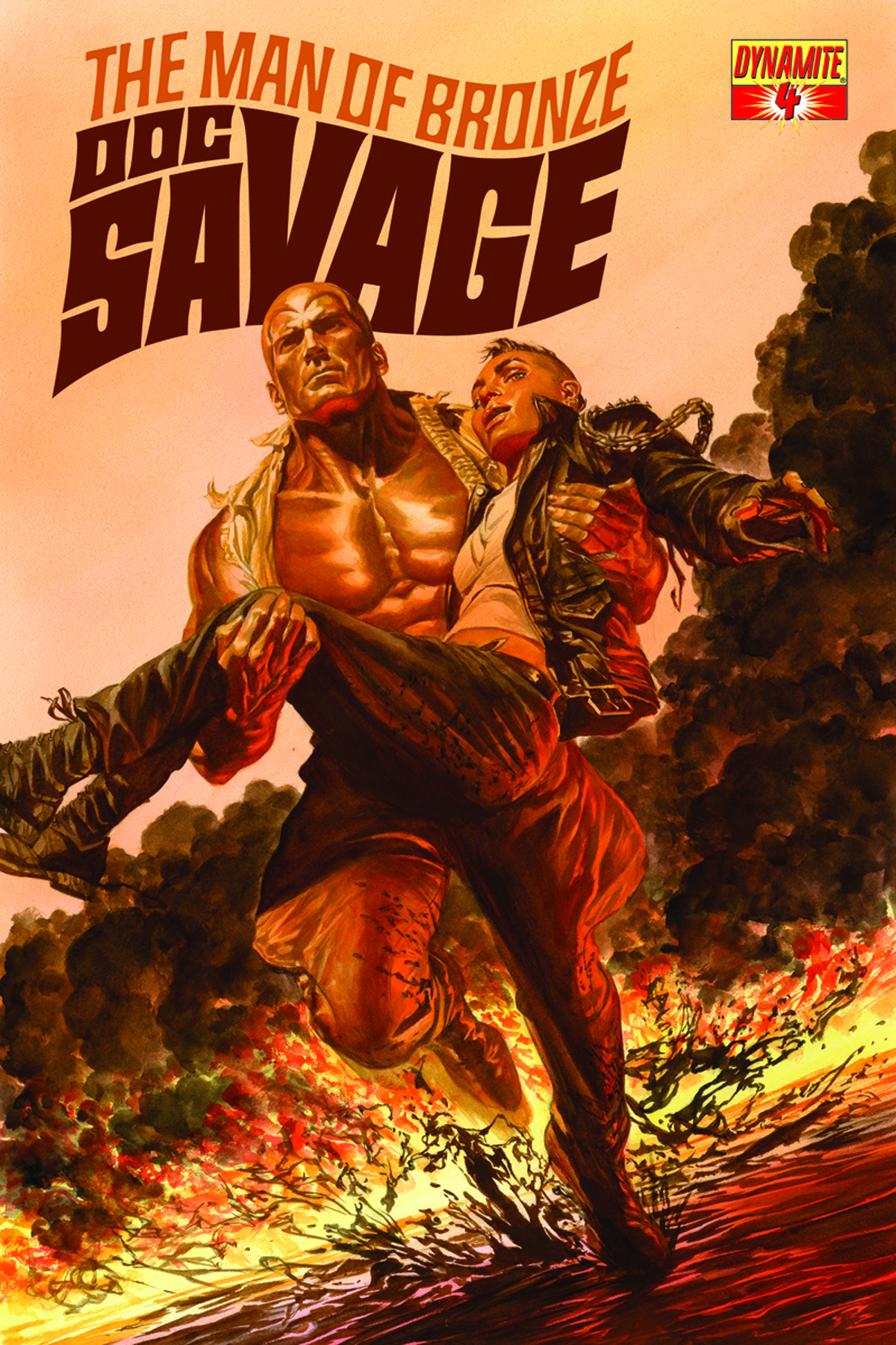 DOC SAVAGE #4