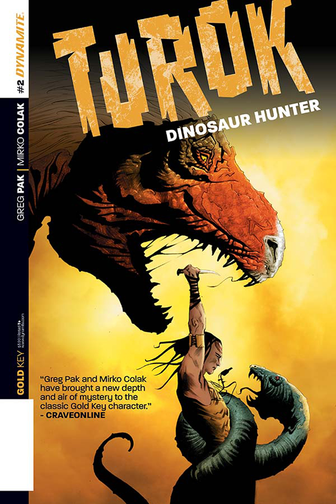 TUROK DINOSAUR HUNTER #2 EXC LEE SUBSCRIPTION VAR