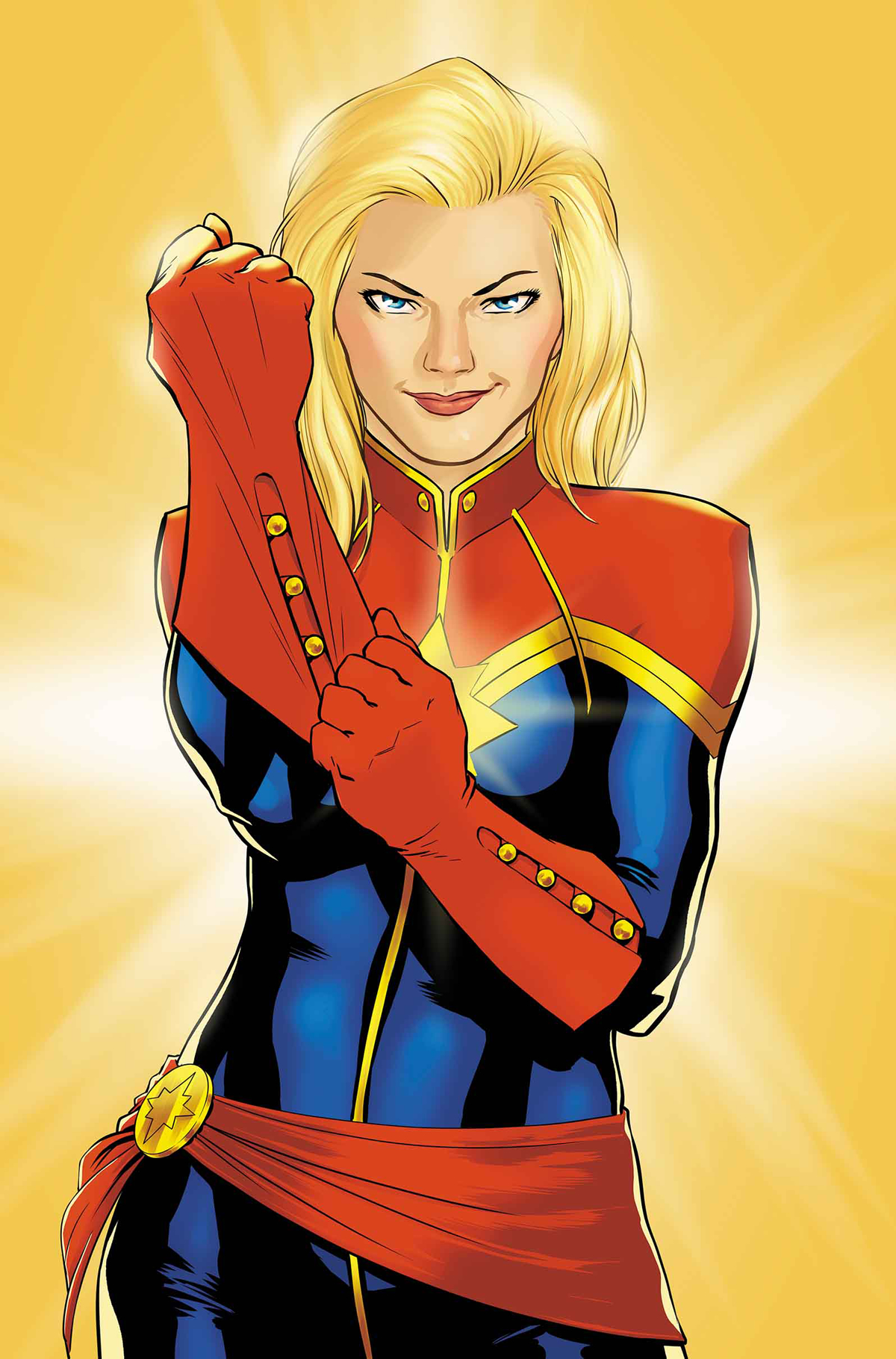 CAPTAIN MARVEL #1 BY LOPEZ POSTER
