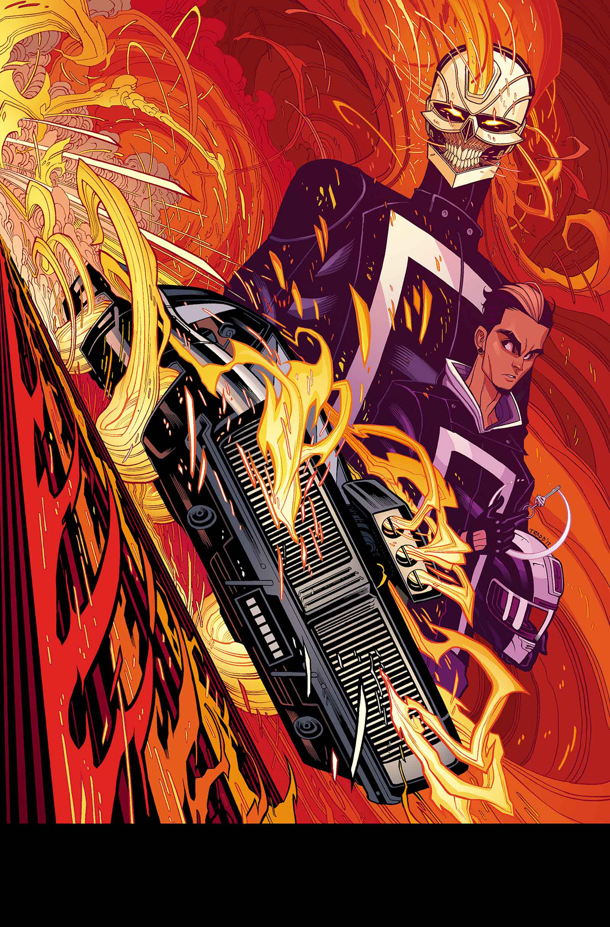 ALL NEW GHOST RIDER #1 POSTER