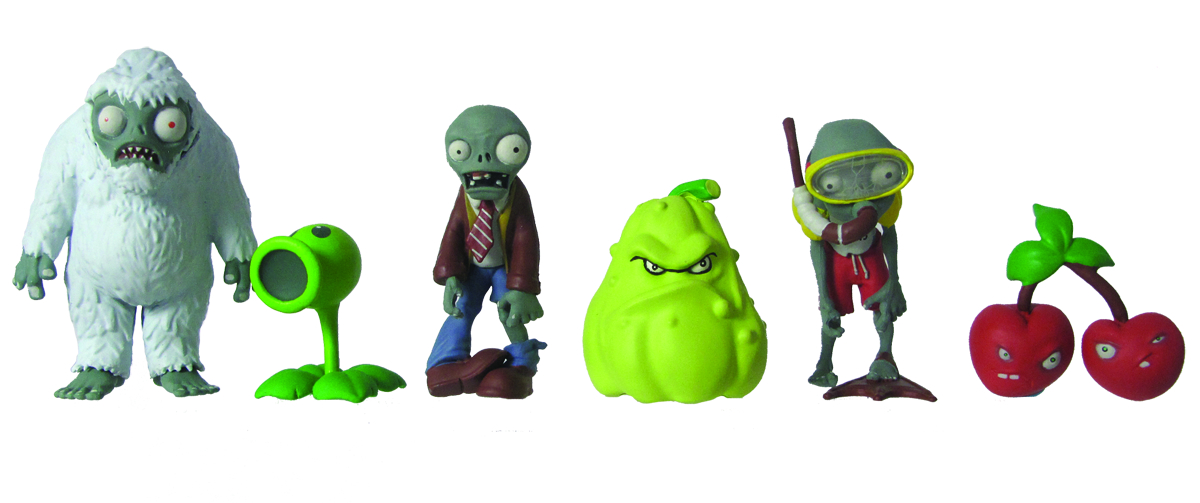 PLANTS VS ZOMBIES 2IN FIG MULTIPACK ASST