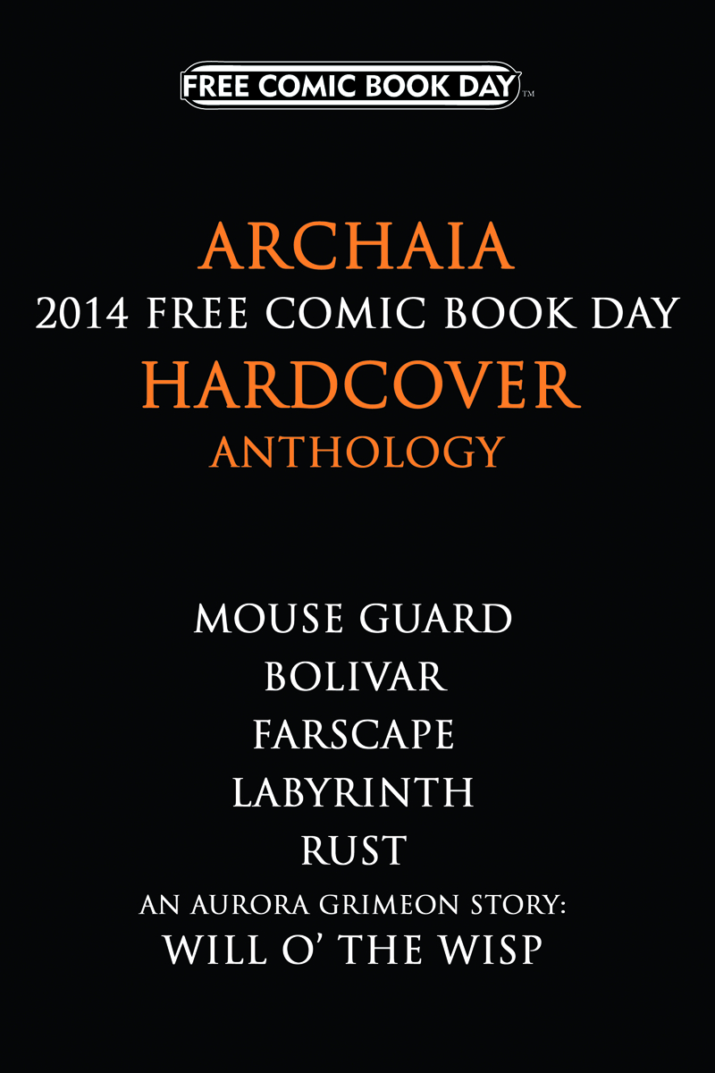 FCBD 2014 MOUSE GUARD LABYRINTH RUST HC