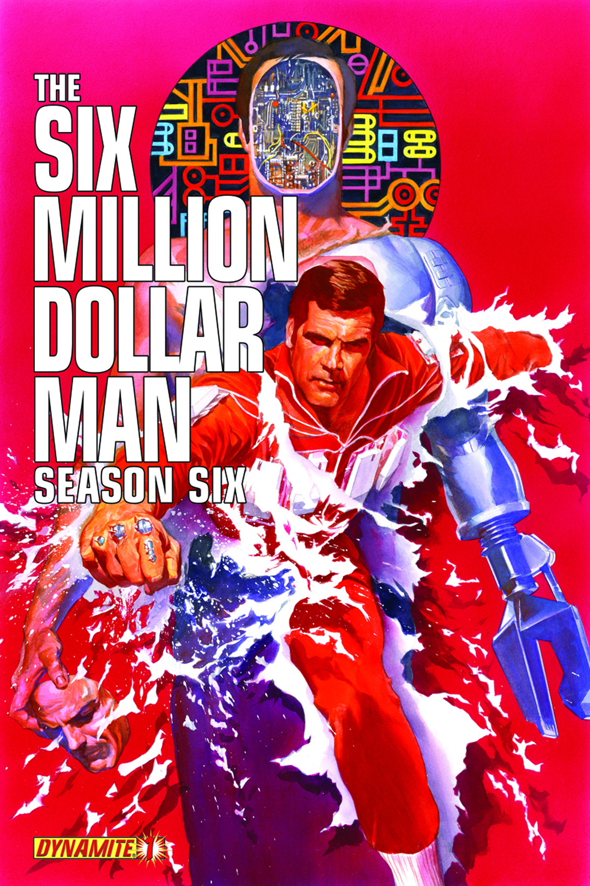 SIX MILLION DOLLAR MAN SEASON 6 #1 35 COPY GOLD SGN INCV