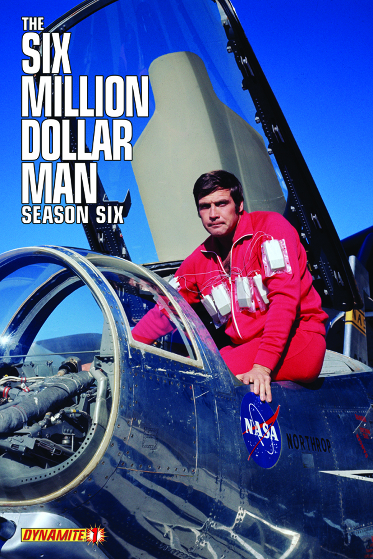 SIX MILLION DOLLAR MAN SEASON 6 #1 EXC SUBSCRIPTION VAR