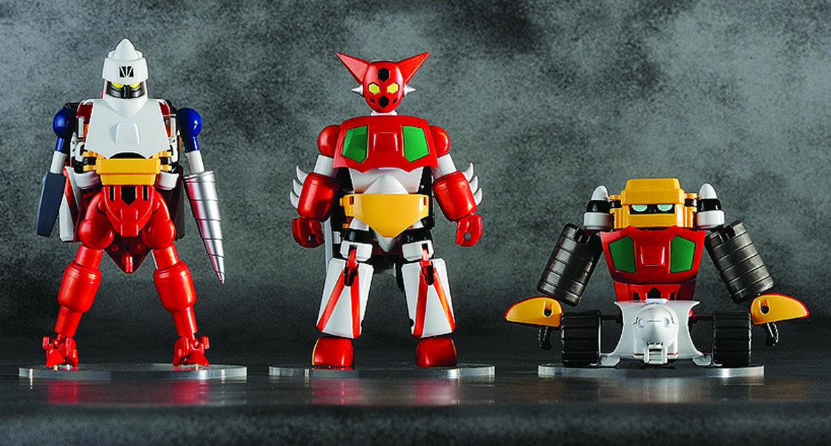 GETTER ROBO DYNAMIC CHANGE FIG
