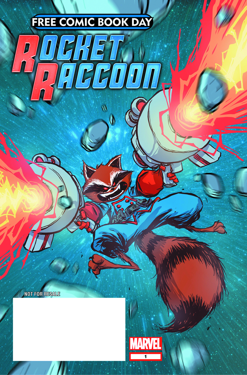 FCBD 2014 ALL ROCKET RACCOON