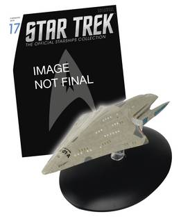 STAR TREK STARSHIPS FIG MAG #17 USS DAUNTLESS