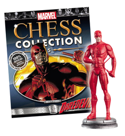 MARVEL CHESS FIG COLL MAG #5 DAREDEVIL WHITE PAWN