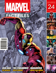 MARVEL FACT FILES #24 AVENGERS IRON MAN COVER