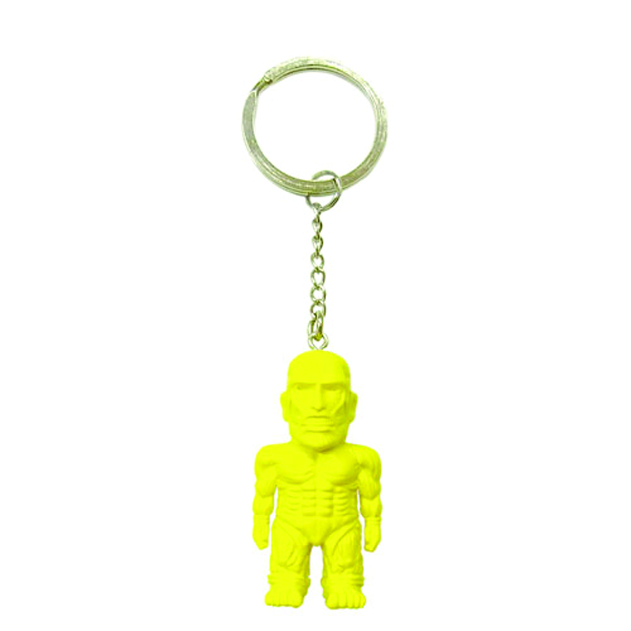 ATTACK ON TITAN YELLOW MASCOT KEYCHAIN