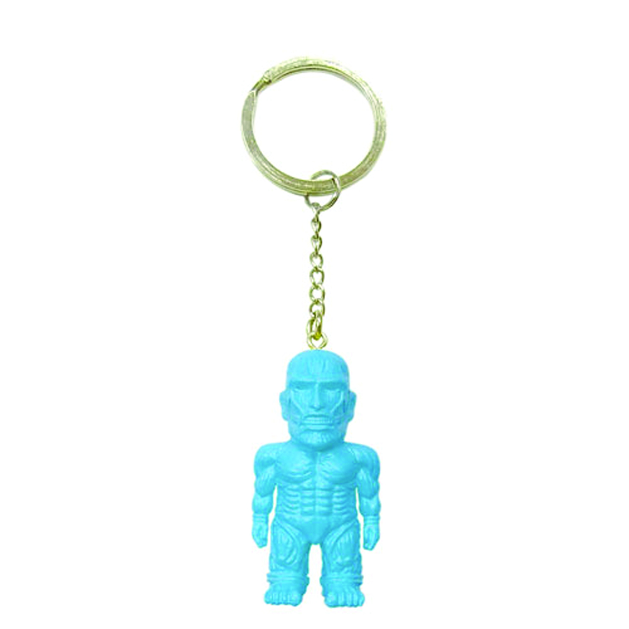 ATTACK ON TITAN BLUE MASCOT KEYCHAIN