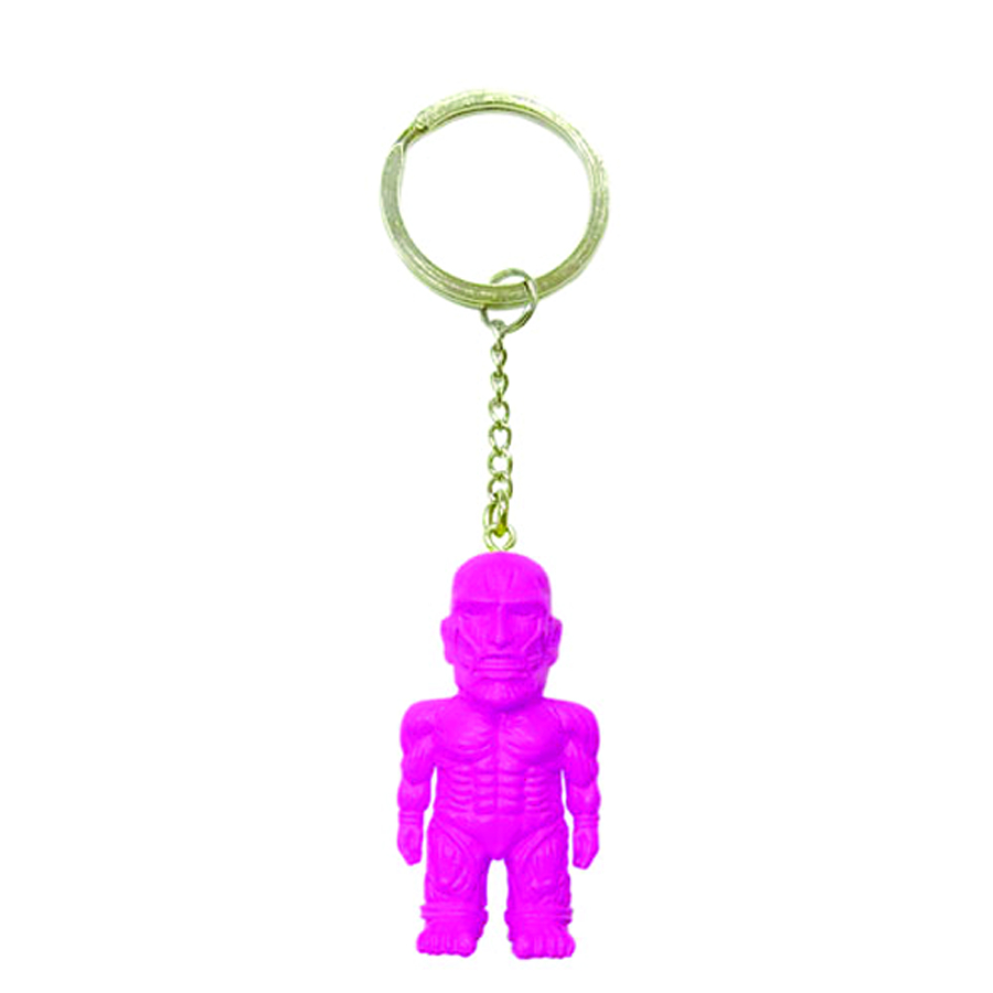 ATTACK ON TITAN PINK MASCOT KEYCHAIN