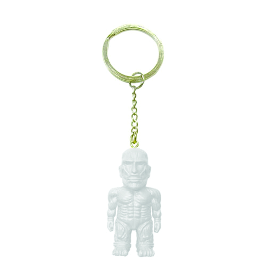 ATTACK ON TITAN LUMINOUS MASCOT KEYCHAIN