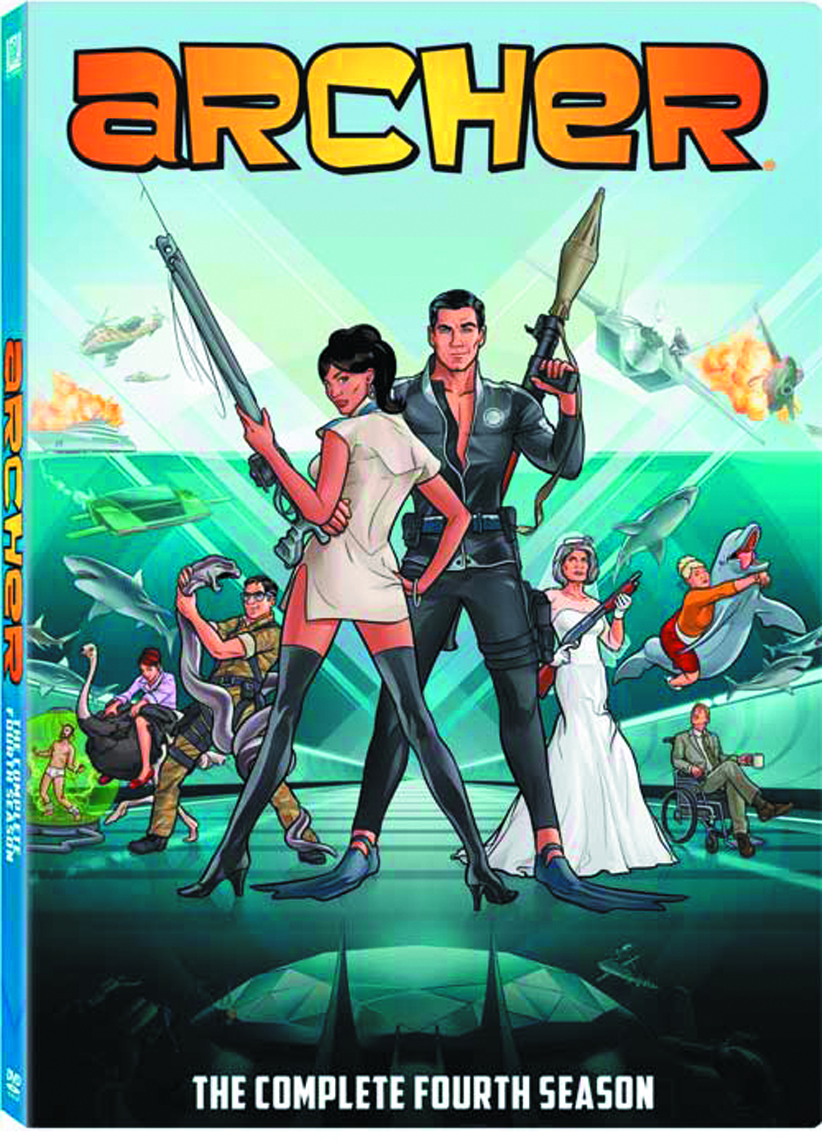 ARCHER DVD SEA 04
