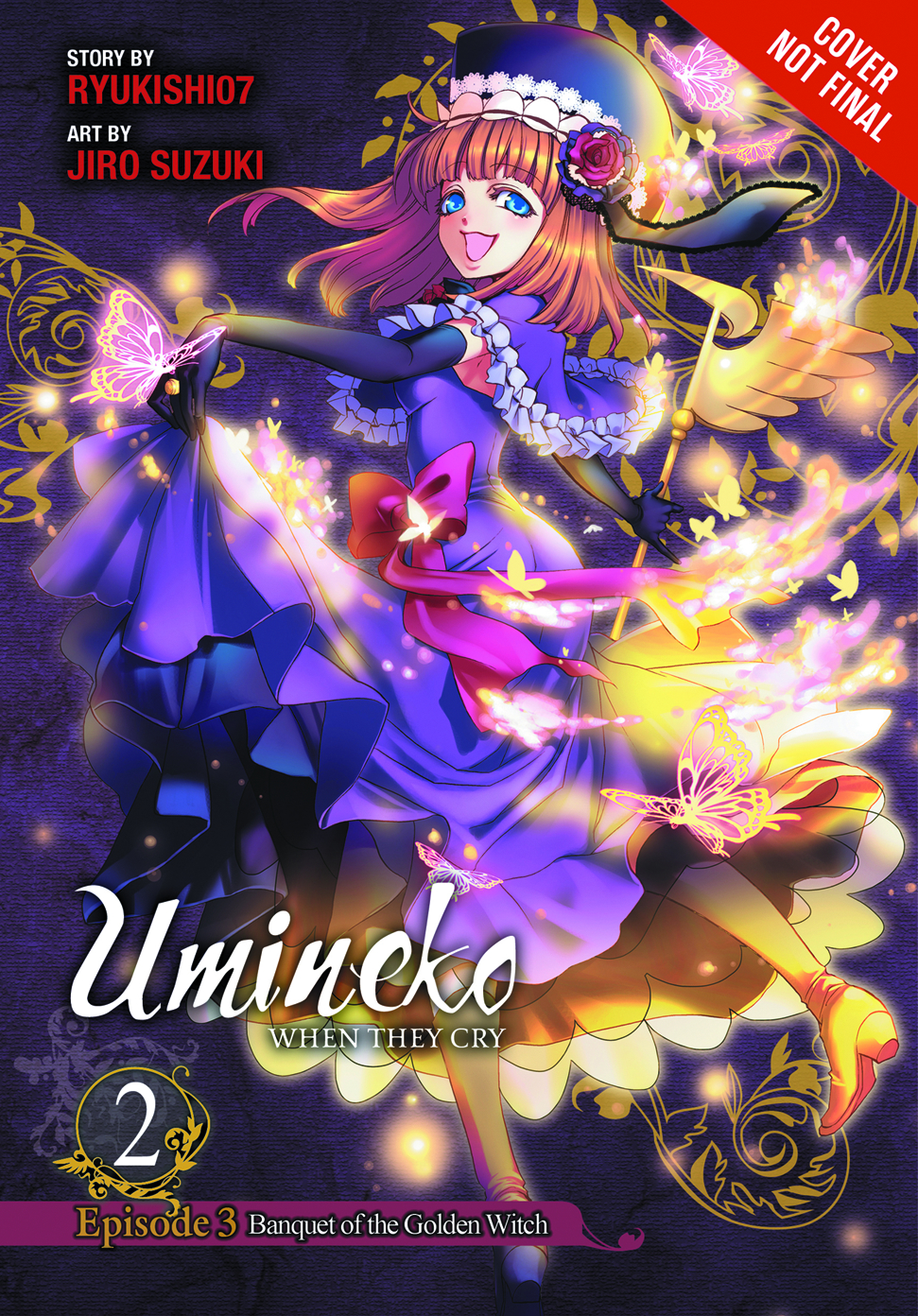 UMINEKO WHEN THEY CRY GN VOL 06 BANQUET GOLDEN WITCH PT 2
