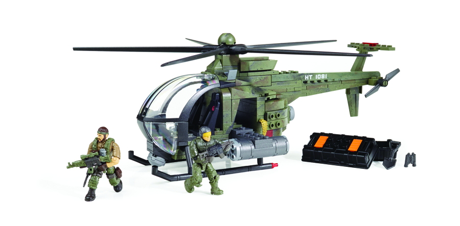 MEGA BLOKS CALL OF DUTY CHOPPER STRIKE SET