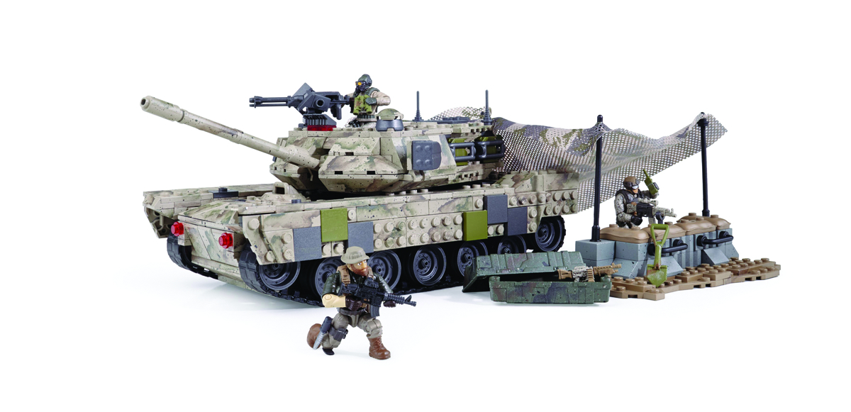 MEGA BLOKS CALL OF DUTY HEAVY ARMOR SET
