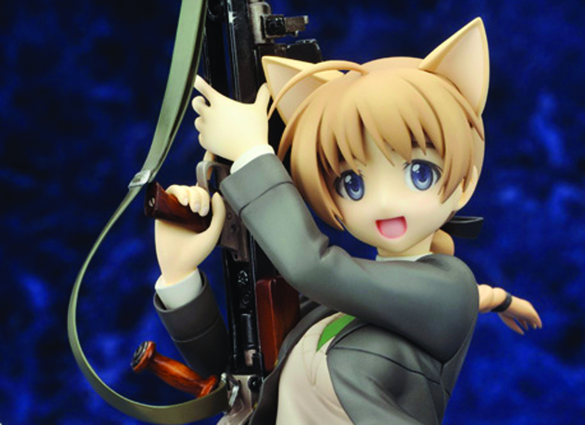 STRIKE WITCHES 2 LYNETTE BISHOP PVC FIG