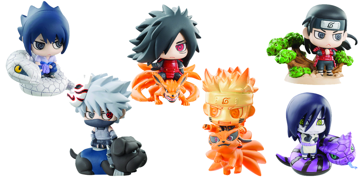 NARUTO NINJA WARS PETIT CHARA LAND 6PC BMB DS