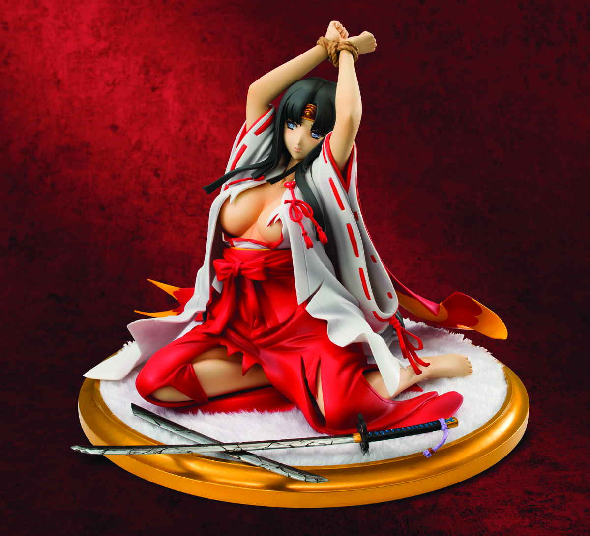 QUEENS BLADE REBELLION TOMOE EX MODEL PVC FIG
