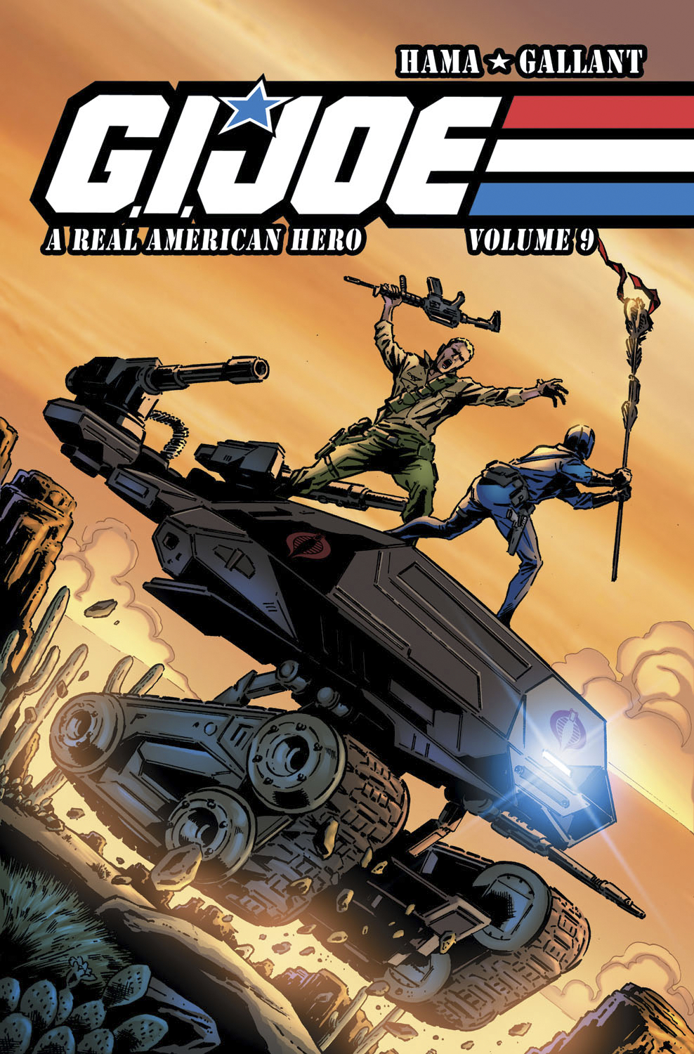 GI JOE A REAL AMERICAN HERO TP VOL 09
