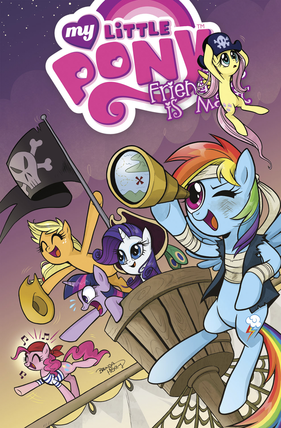 MY LITTLE PONY FRIENDSHIP IS MAGIC TP VOL 04