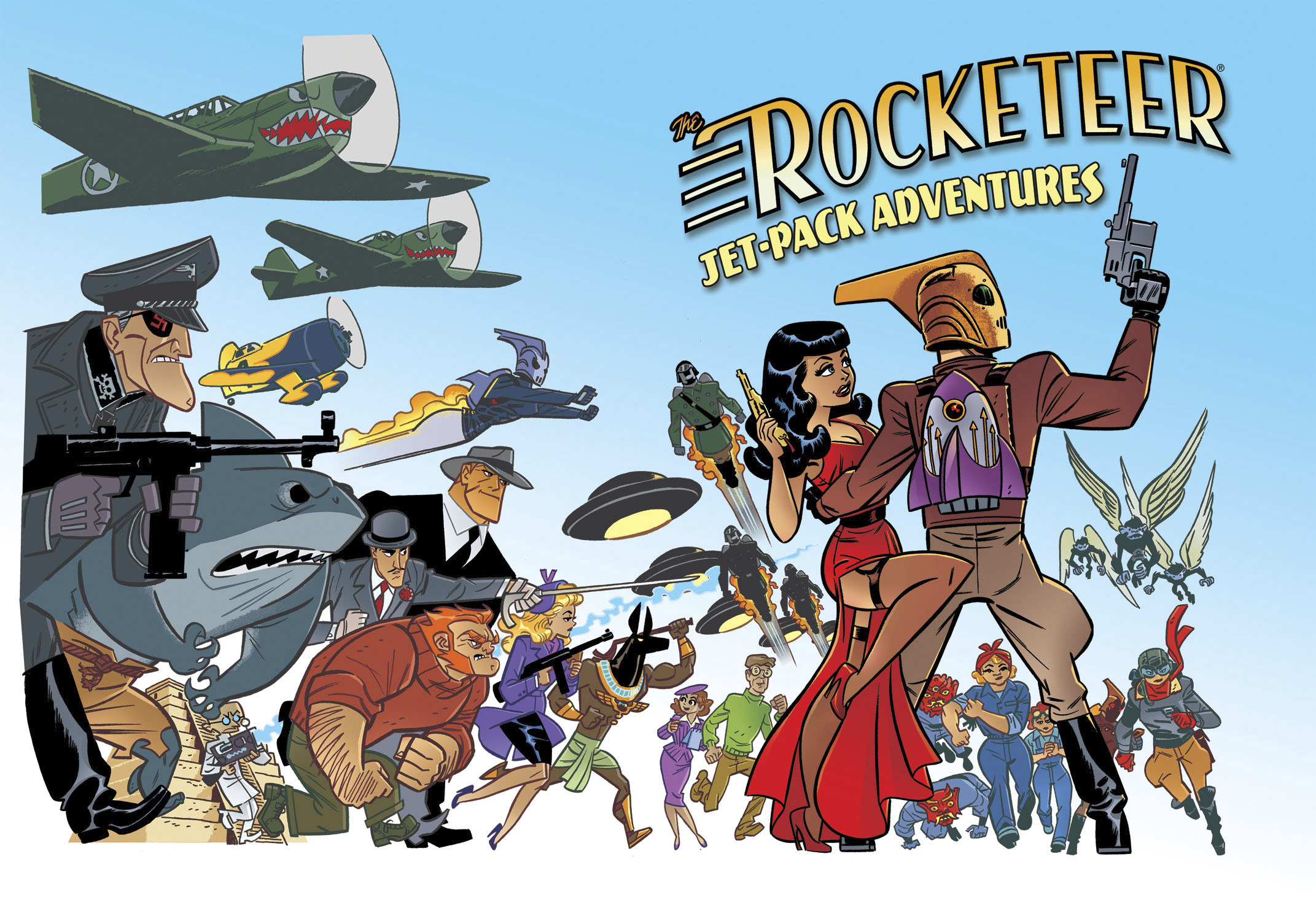 ROCKETEER JET PACK ADVENTURES PROSE SC