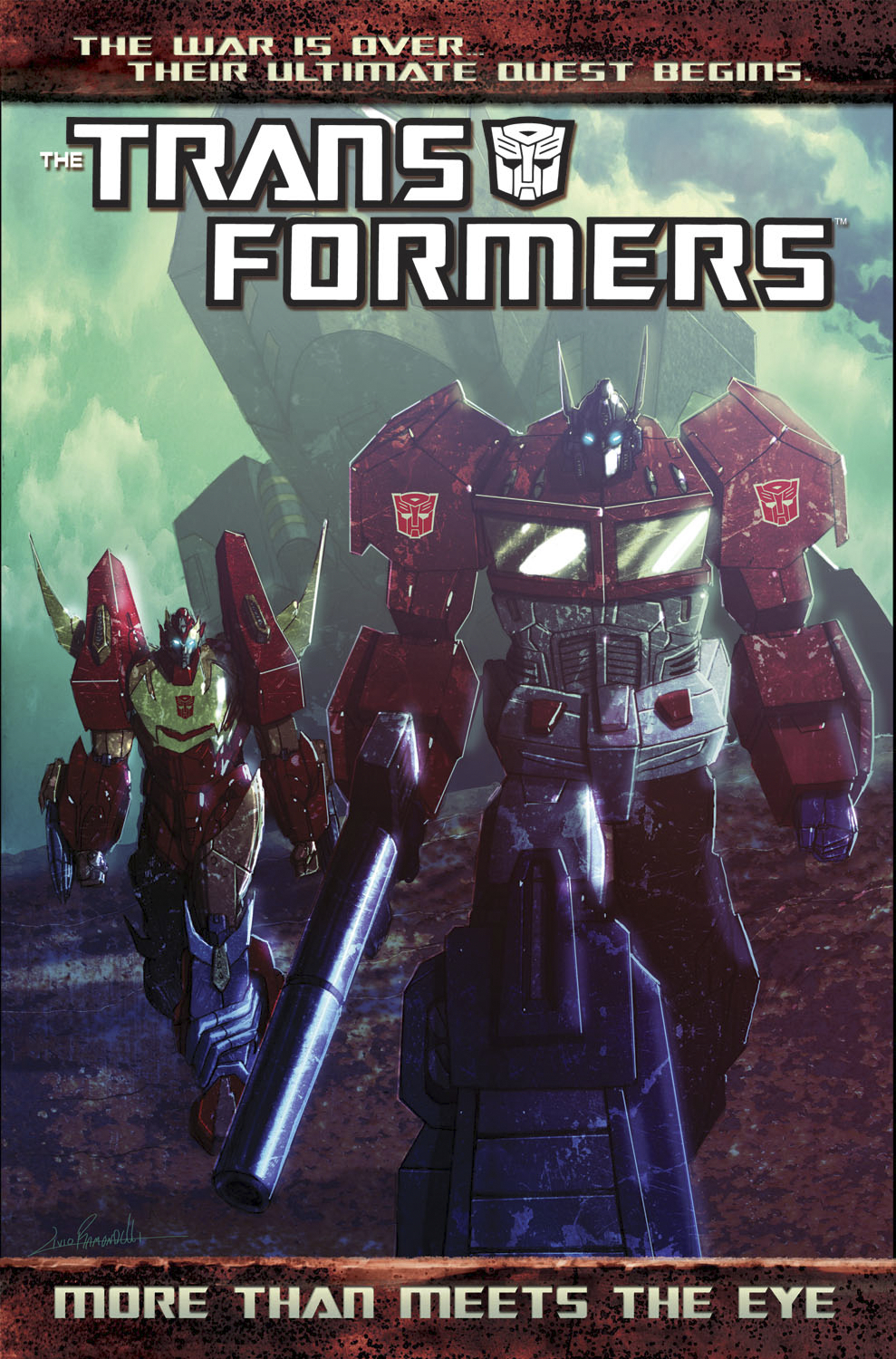 TRANSFORMERS MORE THAN MEETS THE EYE TP VOL 01 NEW PTG