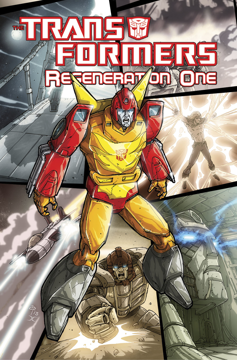 TRANSFORMERS REGENERATION ONE TP VOL 04