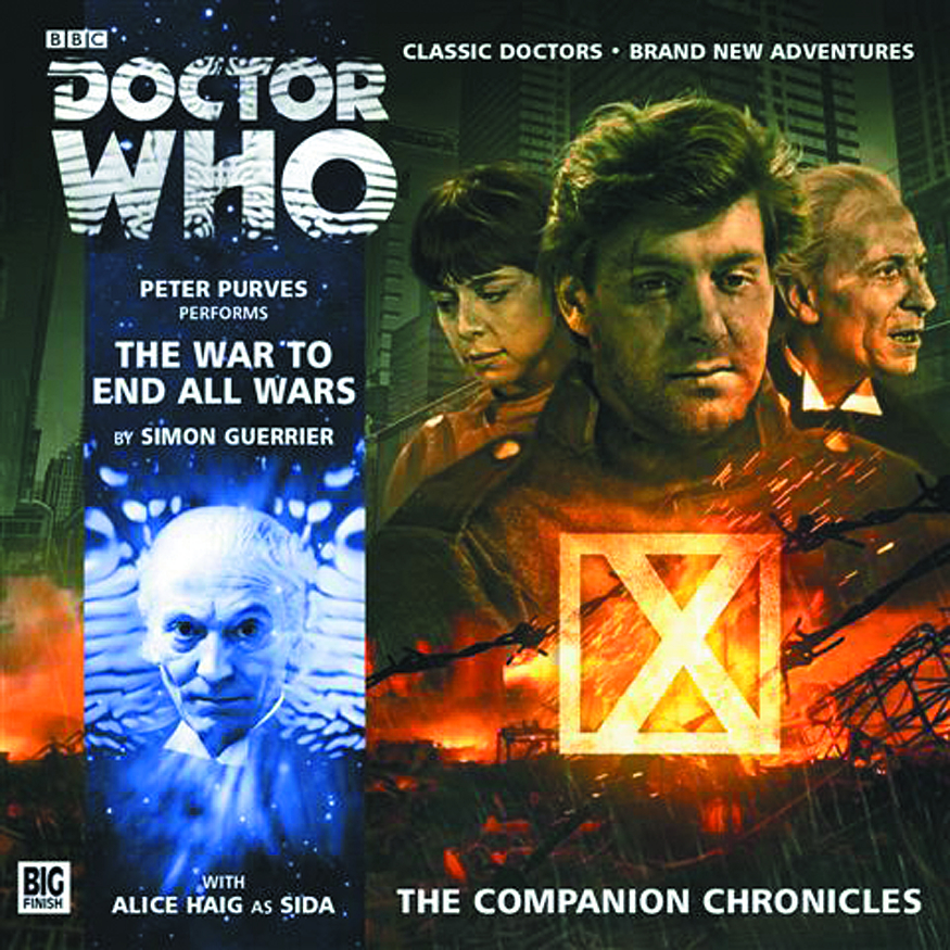 DOCTOR WHO COMP CHRON WAR END ALL WARS AUDIO CD