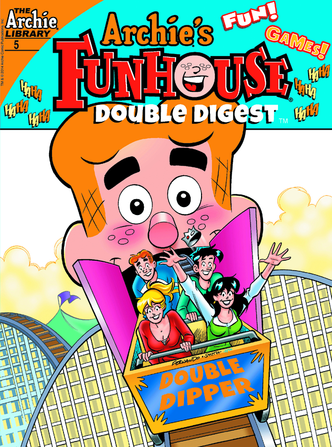 ARCHIE FUNHOUSE DOUBLE DIGEST #5
