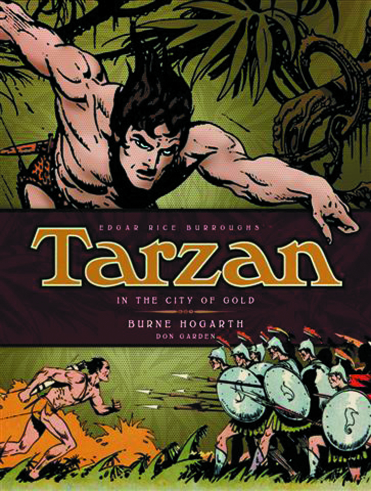 BURNE HOGARTH TARZAN HC VOL 01 IN THE CITY OF GOLD