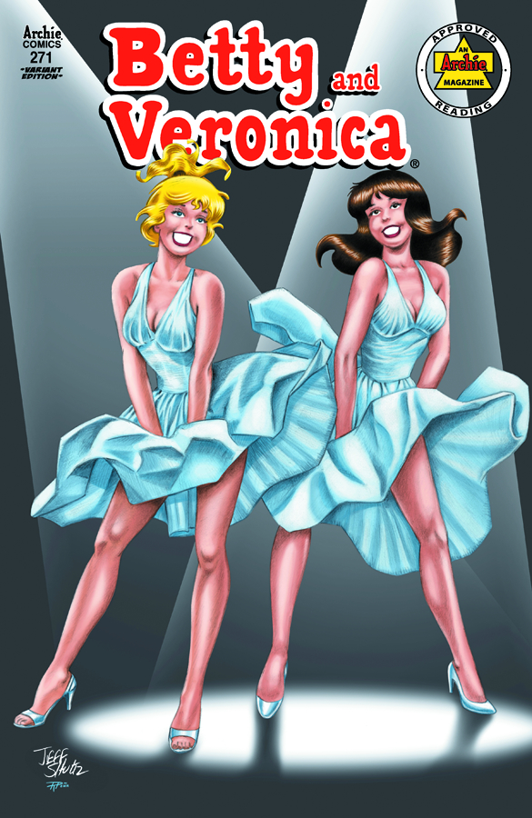 BETTY & VERONICA #271 MARILYNS VAR CVR