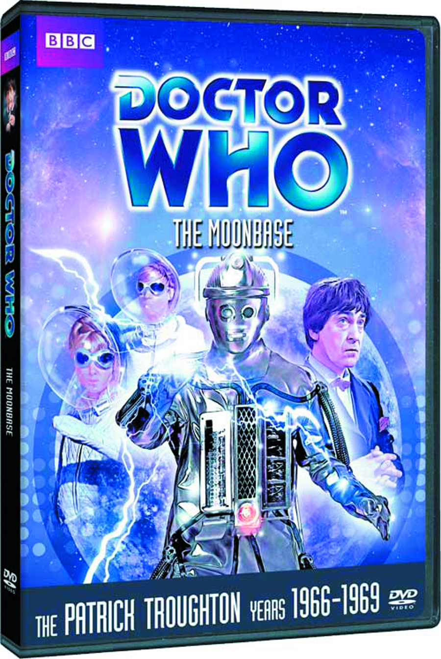 DOCTOR WHO THE MOONBASE DVD