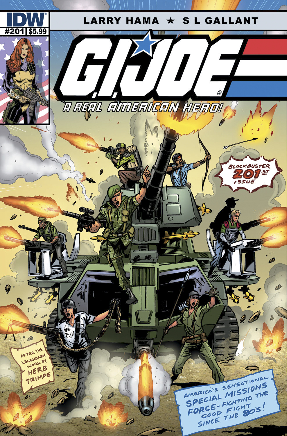 GI JOE A REAL AMERICAN HERO #201