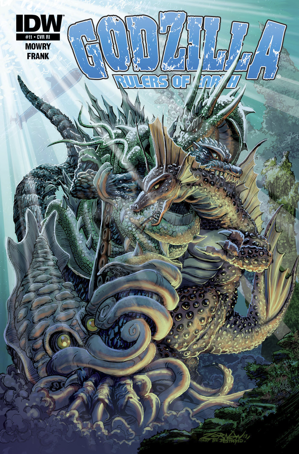 GODZILLA RULERS OF THE EARTH #11 FREE 10 COPY INCV