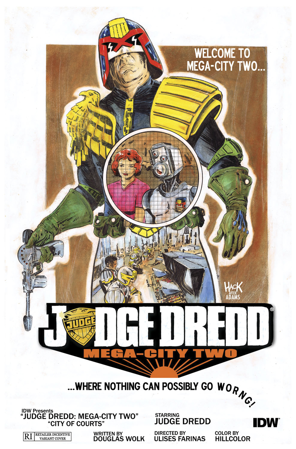 JUDGE DREDD MEGA CITY TWO #4