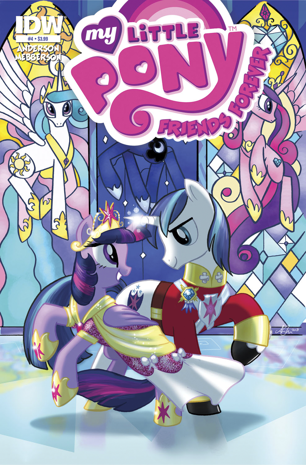 MY LITTLE PONY FRIENDS FOREVER #4 SUBSCRIPTION VAR