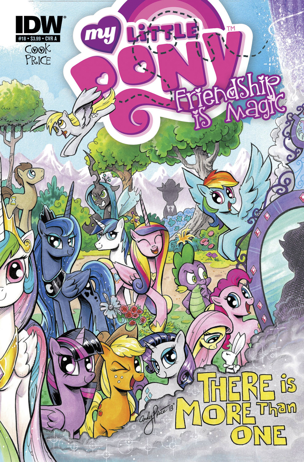 MY LITTLE PONY FRIENDSHIP IS MAGIC #18
